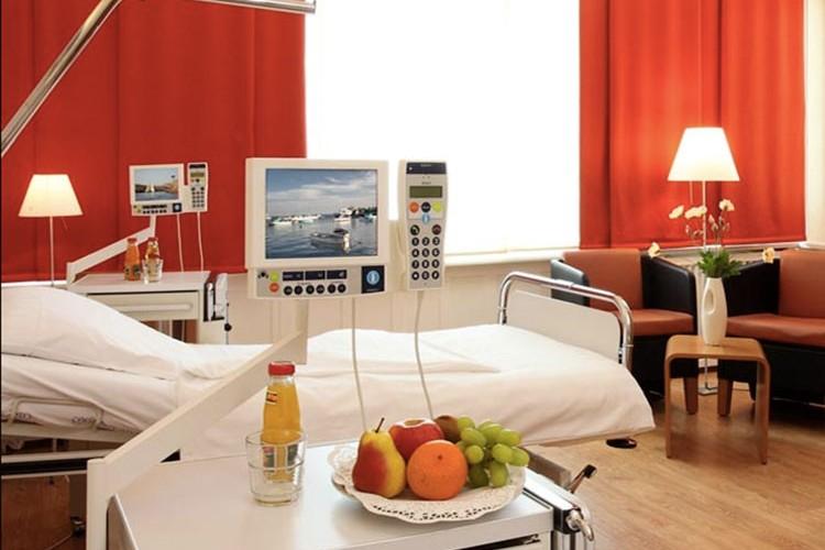 klinik hygiea patientenzimmer